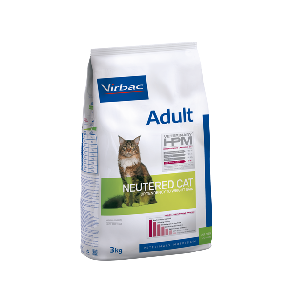 Virbac HPM Adult NEUTERED CAT 3kg