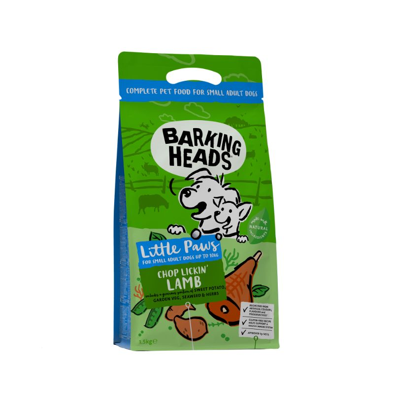 Barking Heads Chop Lickin Lamb (Small Breed) 4kg