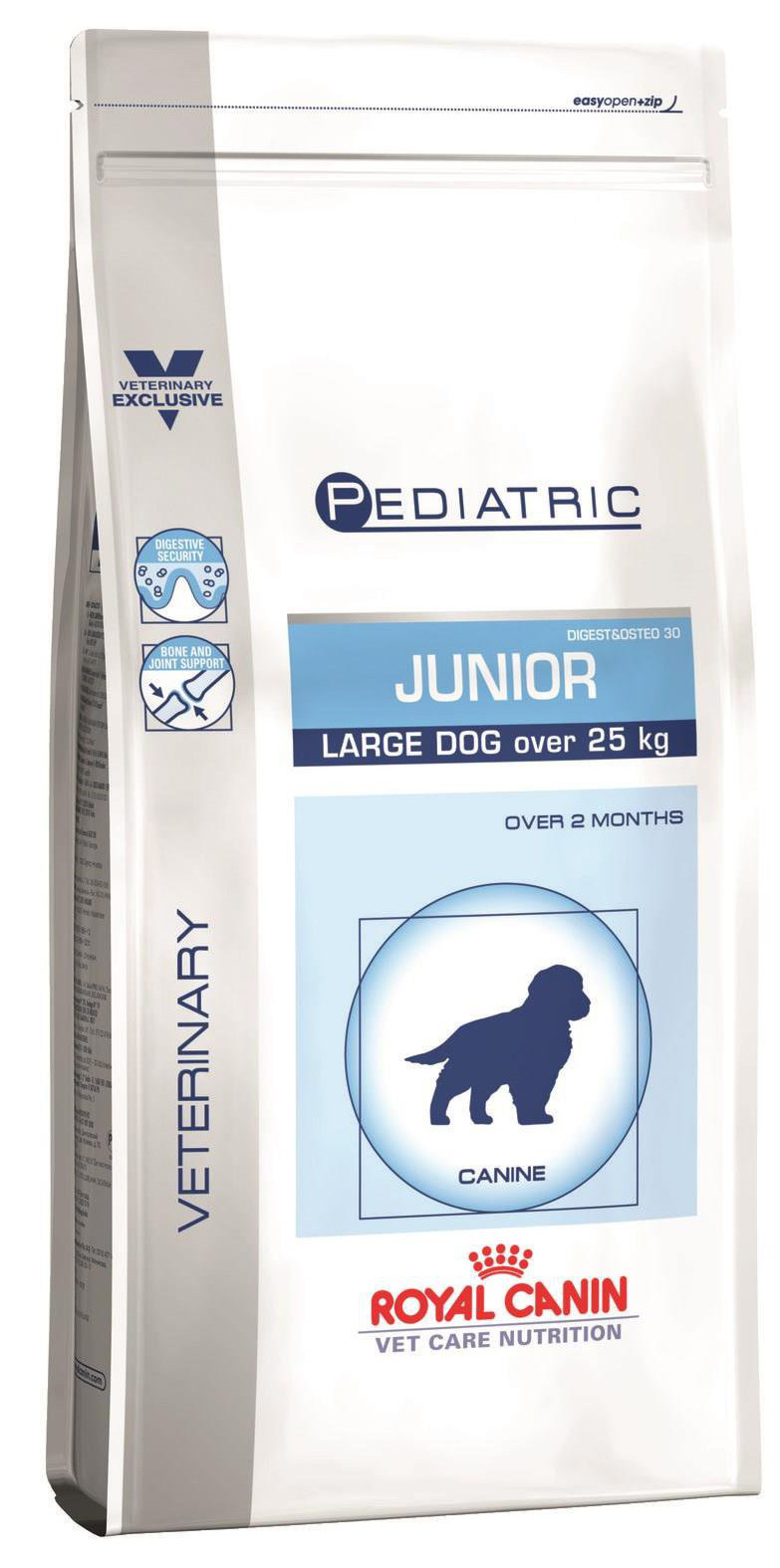 Royal Canin Pediatric Junior Large Dog 14kg.