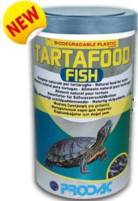 TartaFood FISH džiovintos žuvelės vėžliams 1200ml/200gr