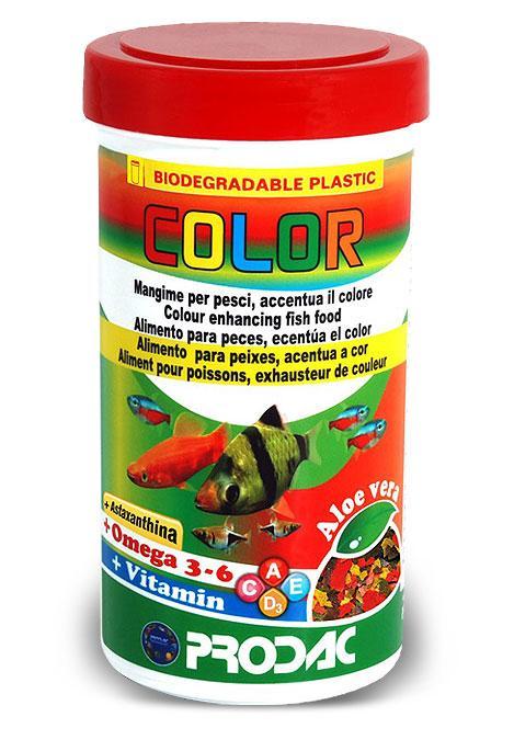Prodac COLOR dribsniai ryškinantys spalvas 250ml 50g
