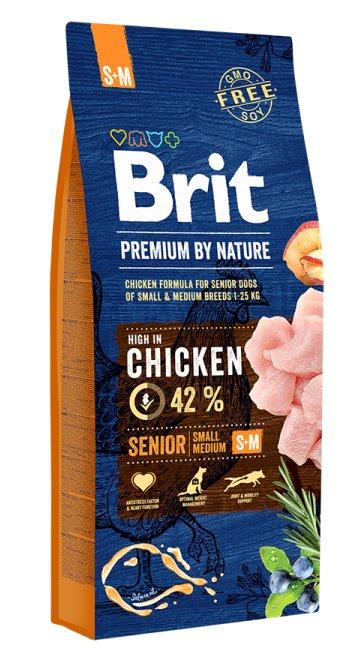 BRIT PREMIUM senior By Nature Small - Medium 15kg
