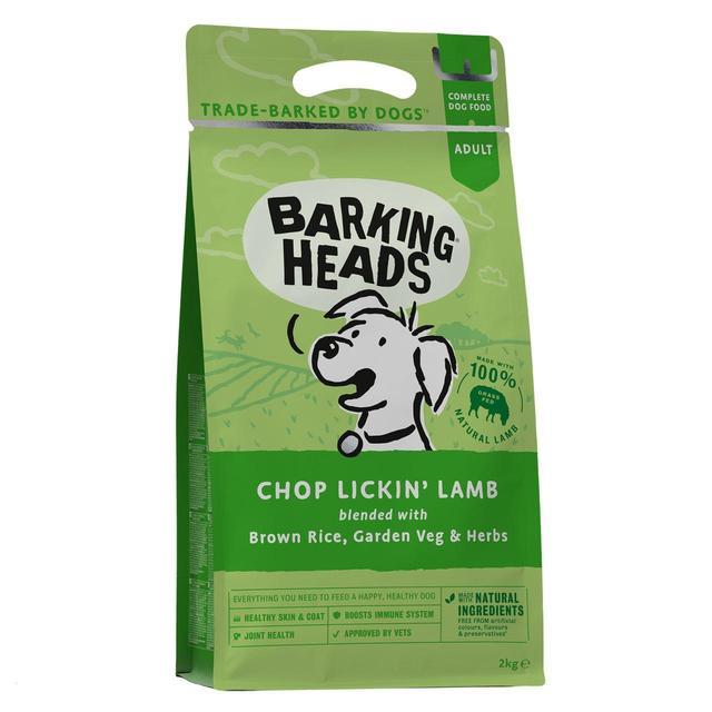 Barking Heads Medium Breeds Chop Lickin Lamb 2kg