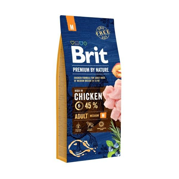 BRIT PREMIUM By Nature Adult Medium 15kg.