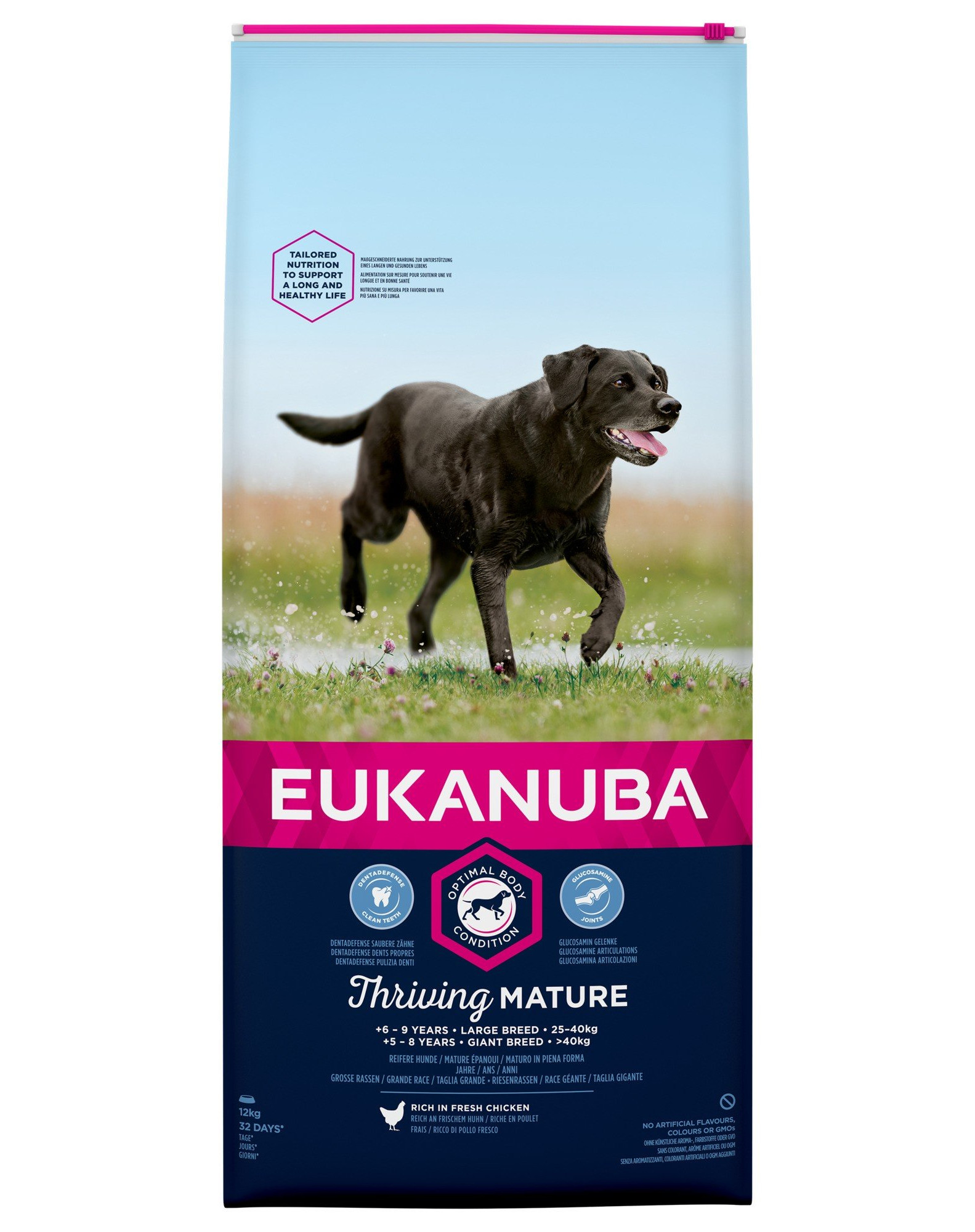 Eukanuba Mature & Senior Large Breed chicken 15kg