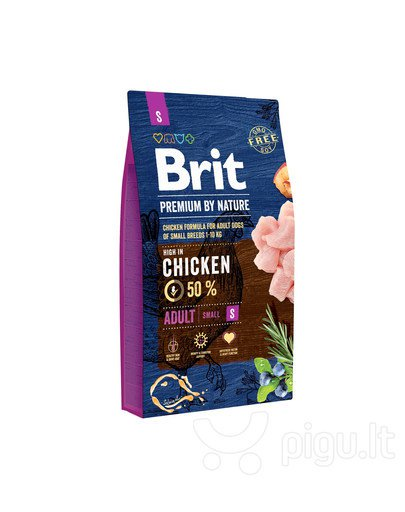 BRIT PREMIUM By Nature adult Small 8kg.