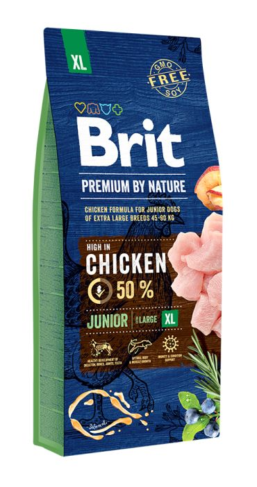 BRIT PREMIUM junior XL 15kg.