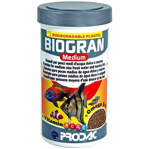 PRODAC BIOGRAN vidutinės granulės žuvim 100ml-45g