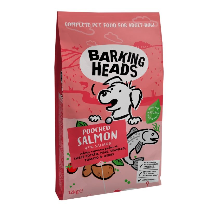 Barking Heads Pooched Salmon Grain Free 12kg