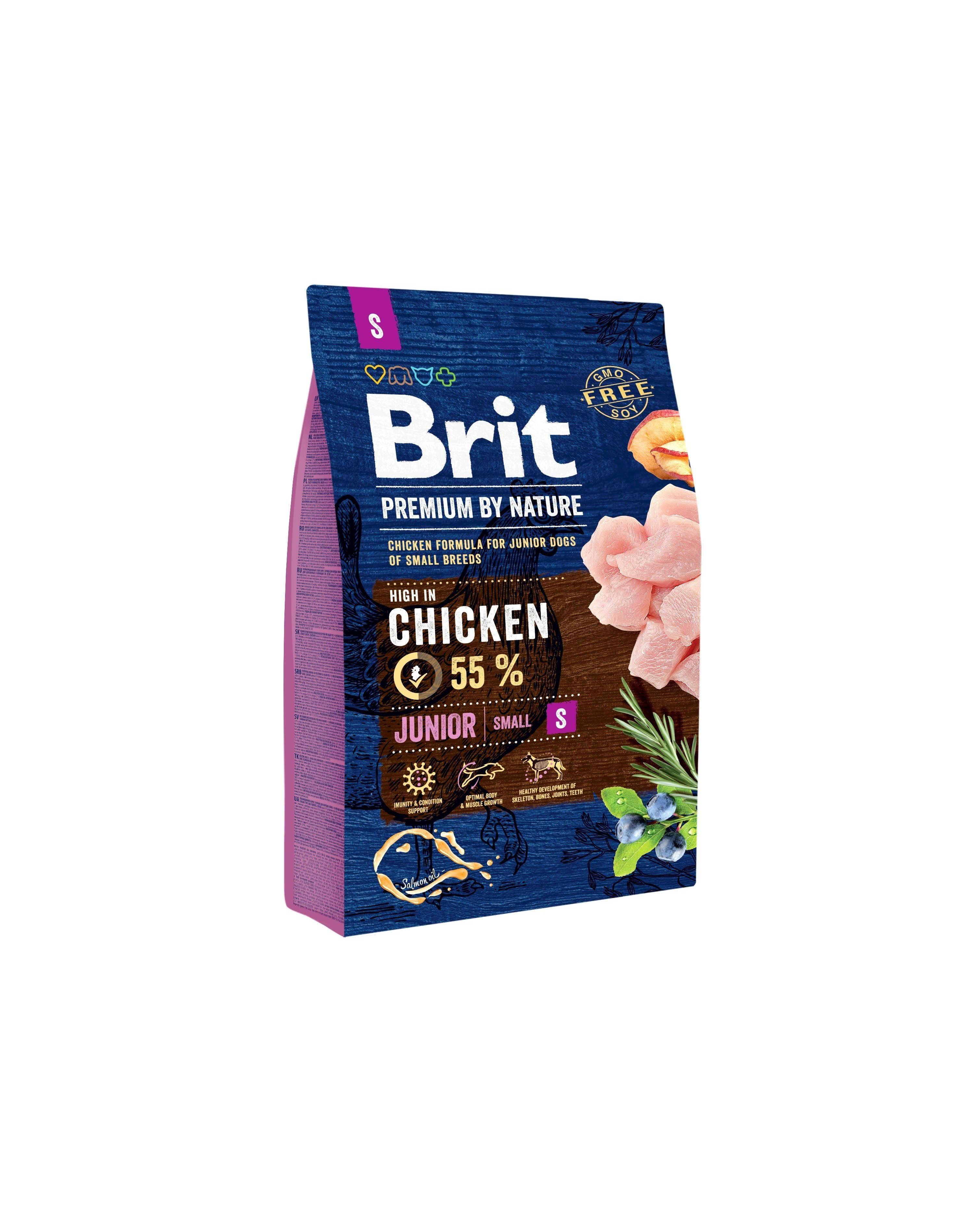 BRIT PREMIUM By Nature junior Small 8kg.