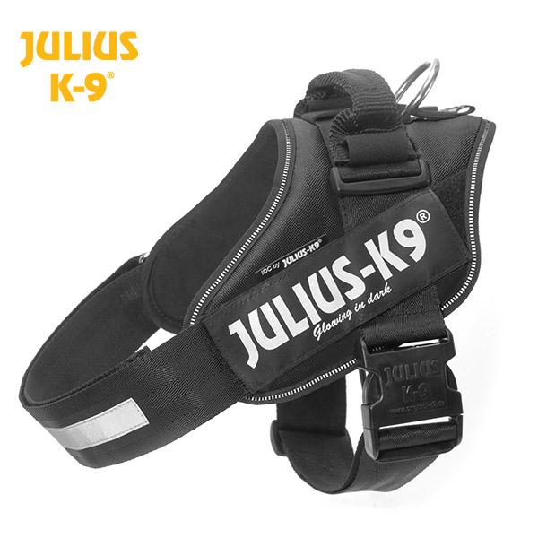 Petnešos Julius K9 IDC juodos 2 dydis