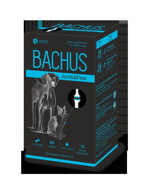 BACHUS Joints&Flexi papildas sąnarių stiprinimui 60 skanių tablečių