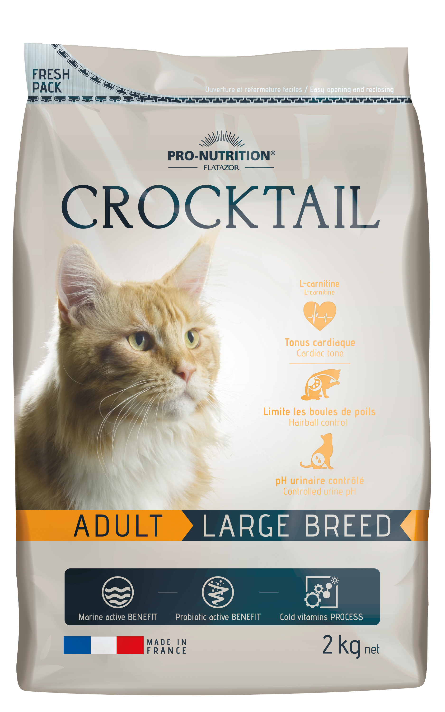 Flatazor Crocktail Adult Large Breed Cats 10kg