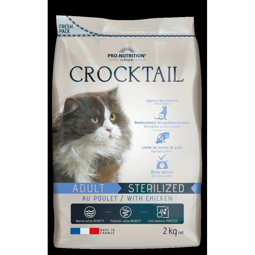 Flatazor Crocktail Adult Sterilized Cats su paukštiena 10kg
