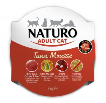 Naturo Cat Tuna Mousse 85gr