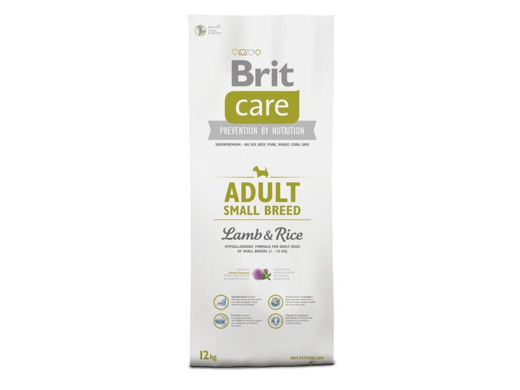 BRIT CARE Adult Small Breed Lamb 7,5kg