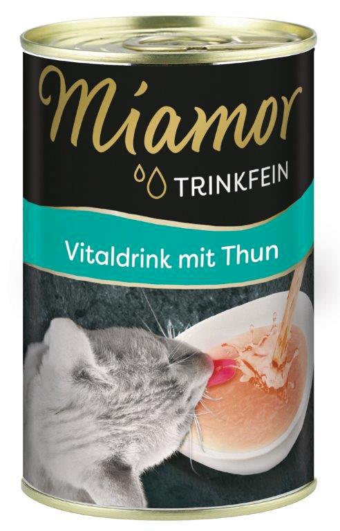 Miamor Trinkfein Vitaldrink gėrimas su Tunu 135ml