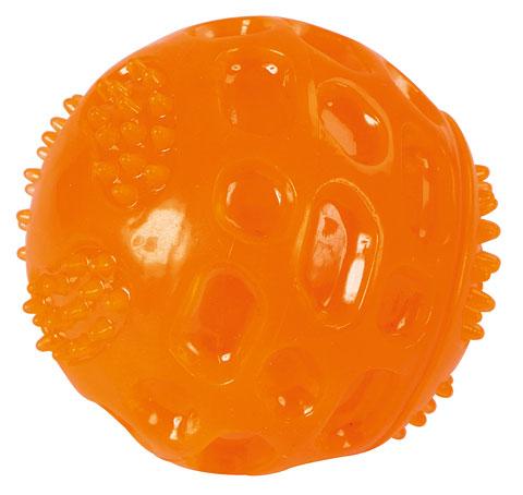 Guminis Stiprus kamuoliukas šunims 7,5 cm.