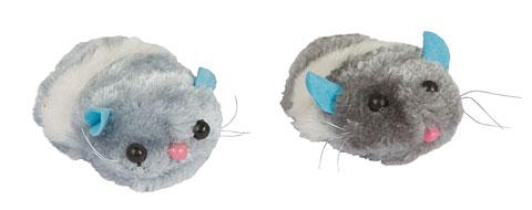 Žaislas katei pelė drebanti  7cm