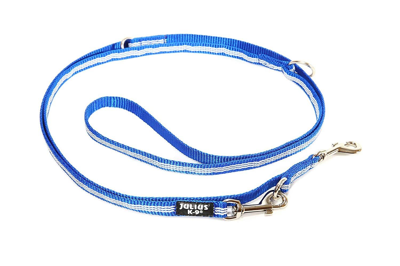 Julius-K9 IDC Tubular Webbing pavadys 1,8m mėlynas