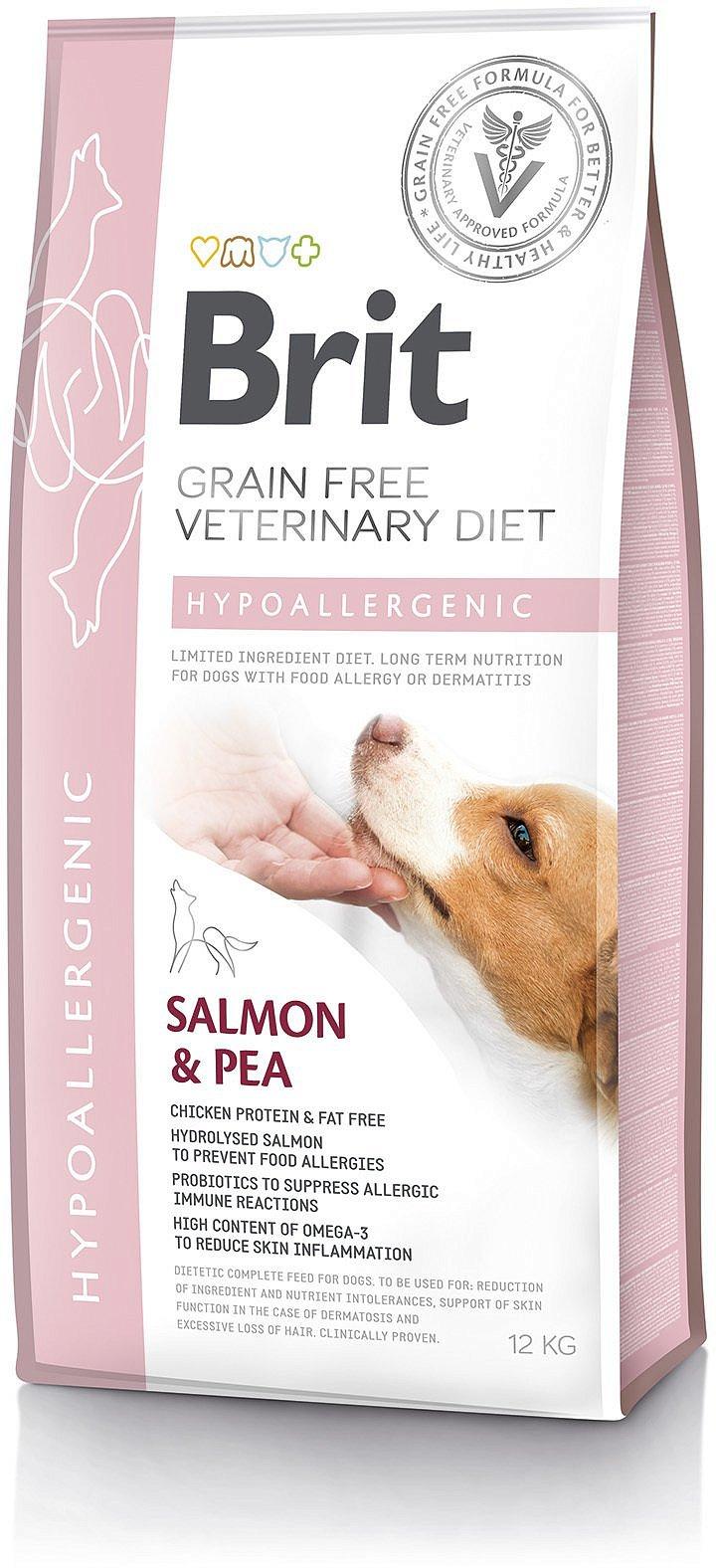 Brit Grain Free Veterinary Diets Dog Hypoallergenic 2kg