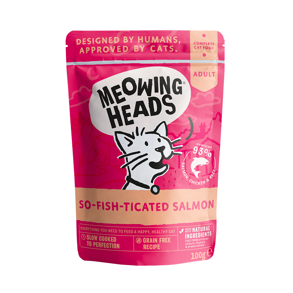 Meowing Heads konservai So Fish Ticated Salmon 100gr