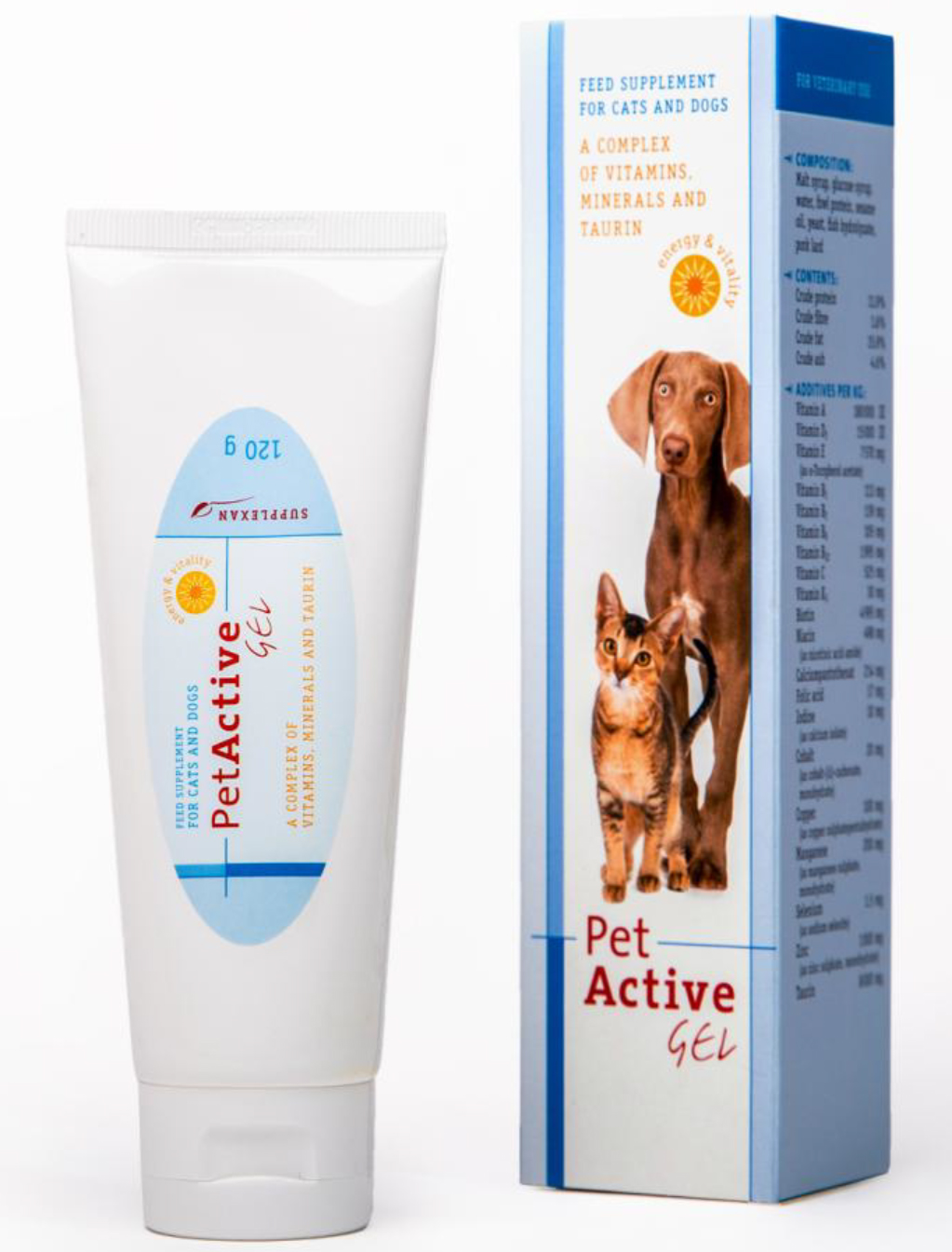 Pet Active gel 120ml