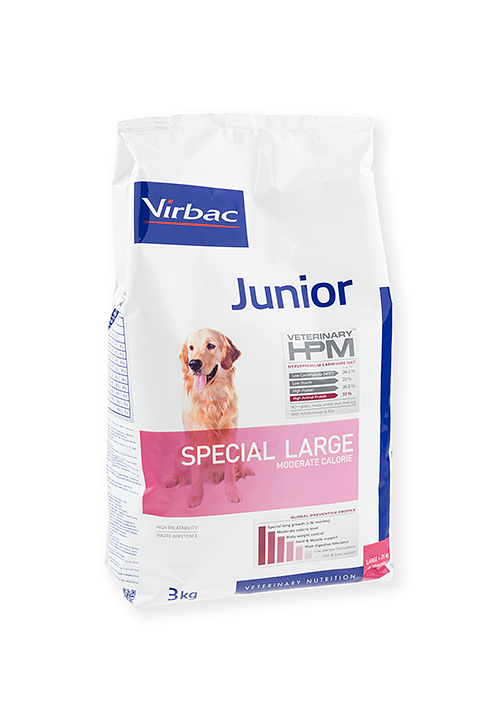 Virbac HPM Junior Dog Special Large 7kg