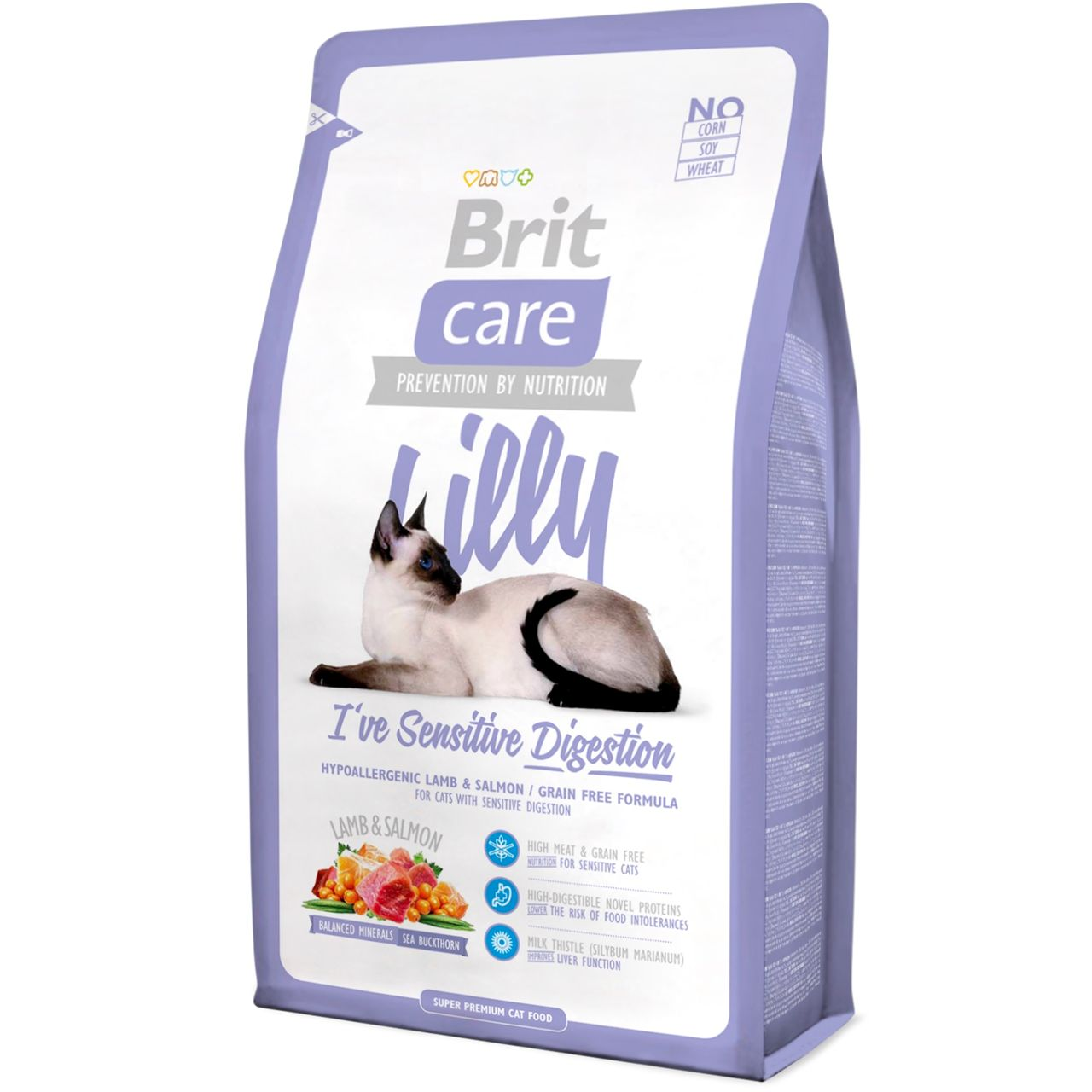 Kačių maistas Brit Care Cat Lilly Digestion 7kg.