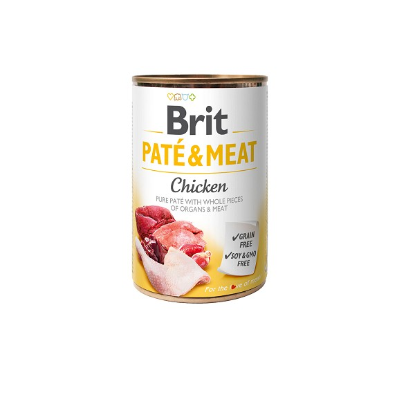 Brit Care Chicken Pate & Meat 400gr.