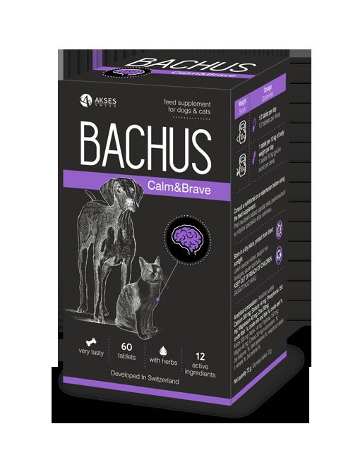 BACHUS Calm&Brave 60 skanių tablečių