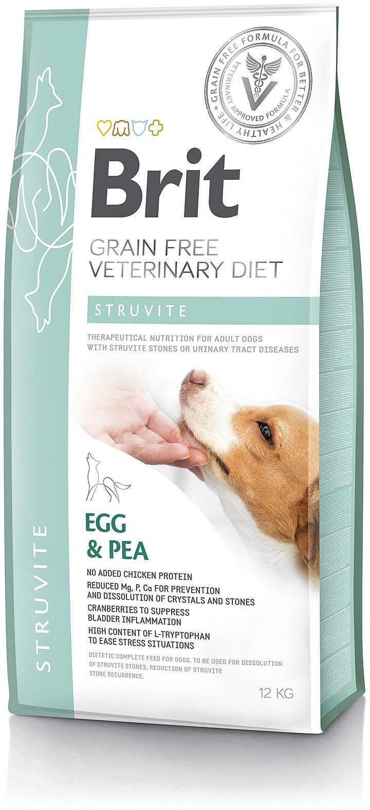 Brit Grain Free Veterinary Diets Dog Struvite 2kg