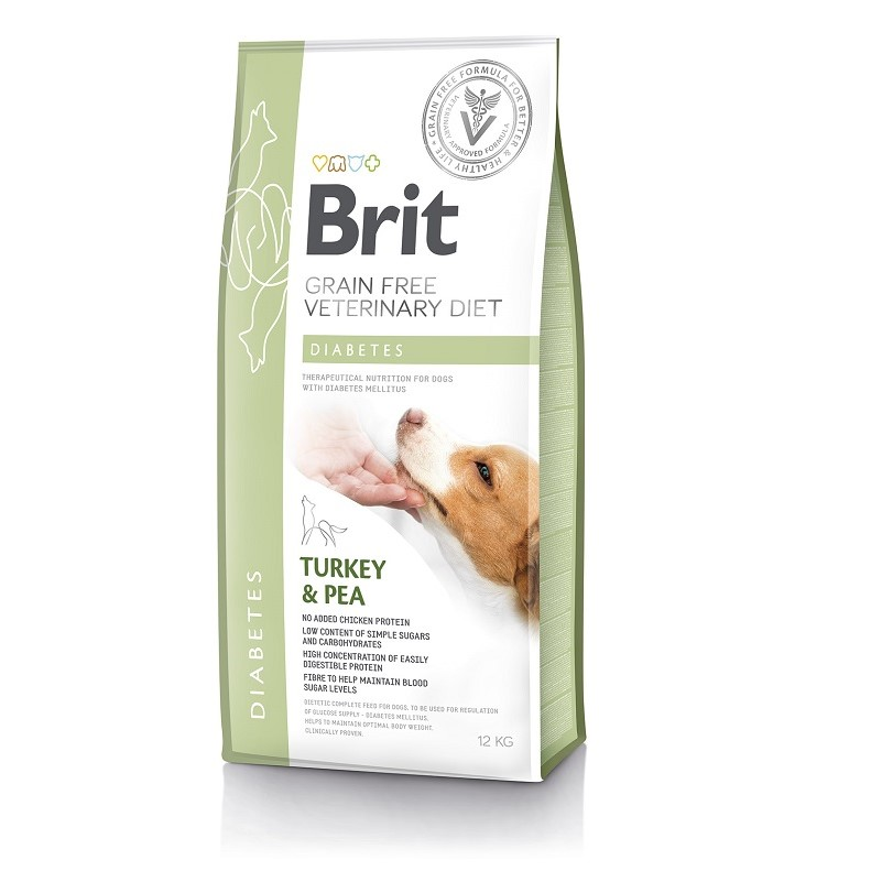 Brit Grain Free Veterinary Diets Dog Diabetes 2kg