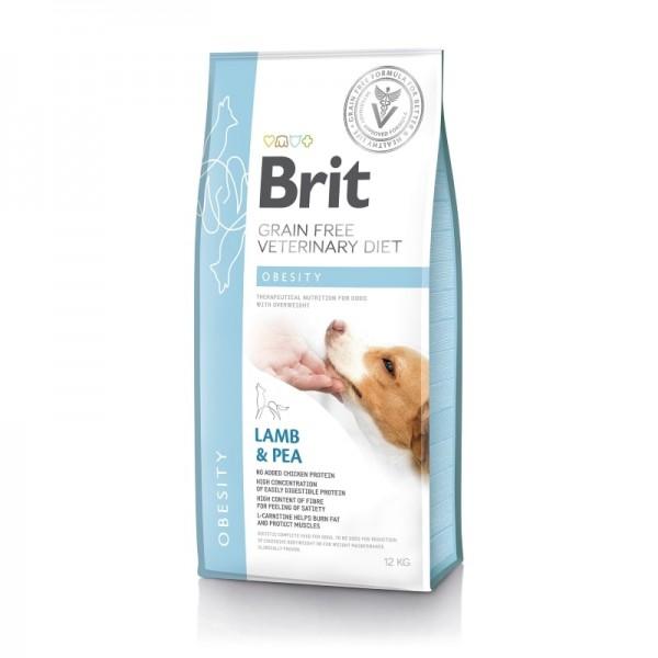 Brit Grain Free Veterinary Diets Dog Obesity 12kg