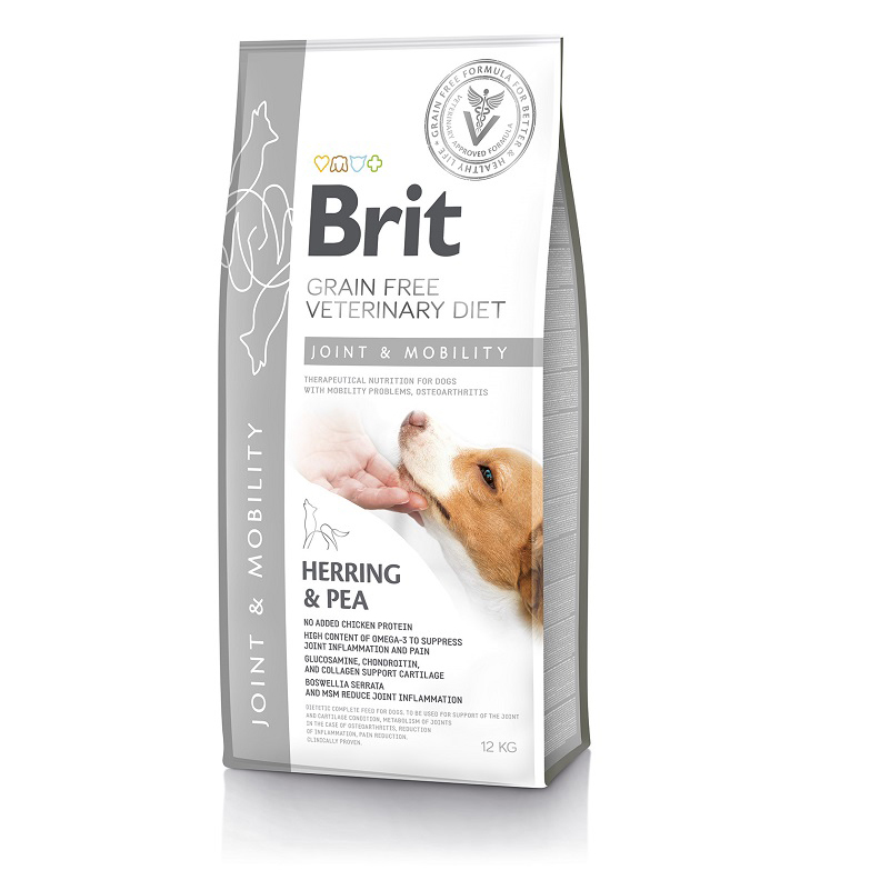 Brit Grain Free Veterinary Diets Dog Mobility 12kg