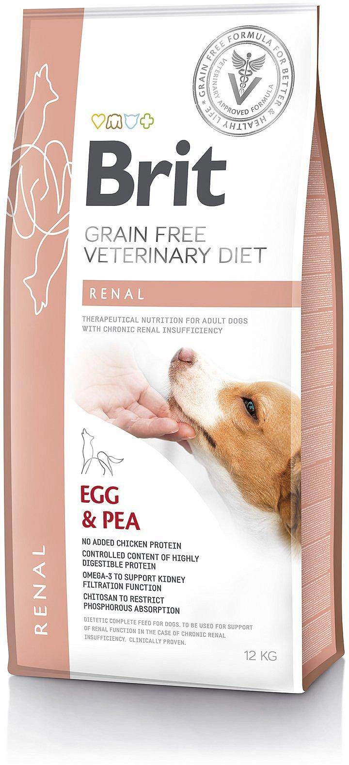 Brit Grain Free Veterinary Diets Dog Renal 2kg