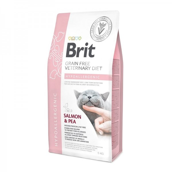 Brit Grain Free Veterinary Diets Cat Hypoallergenic 2kg