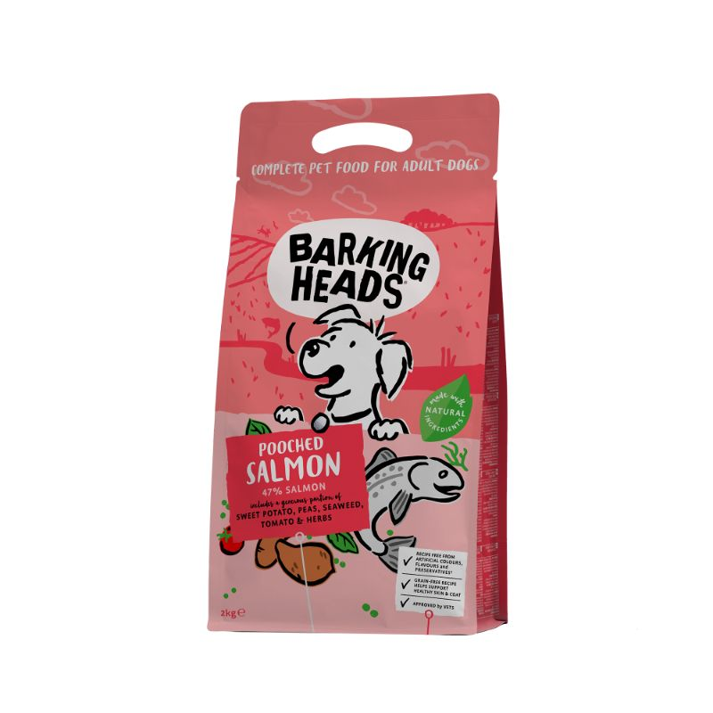 Barking Heads Pooched Salmon Grain Free 2kg