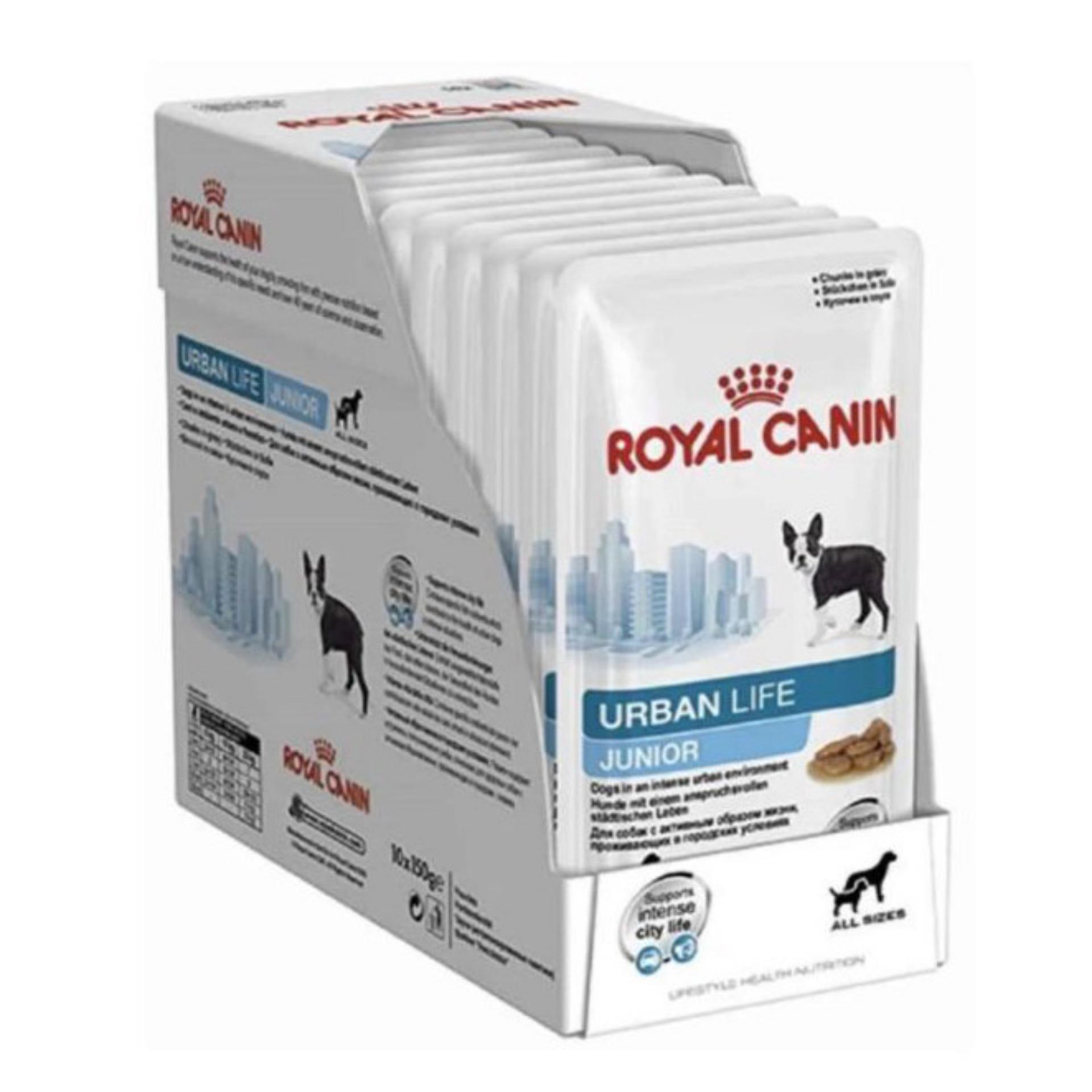 Royal Canin Urban Life Junior Dog 10x150g