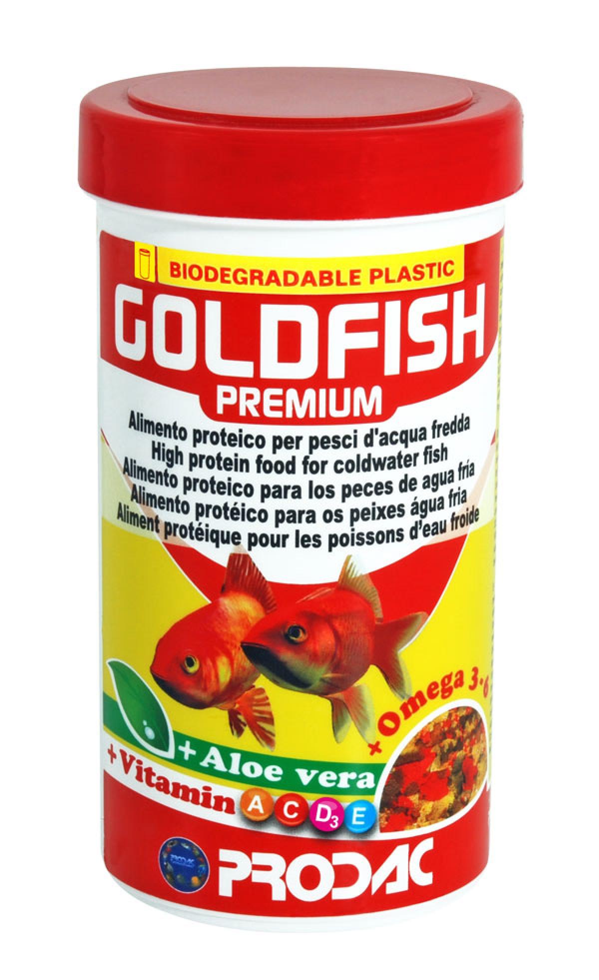Goldfish premium dribsniai 100ml-20gr
