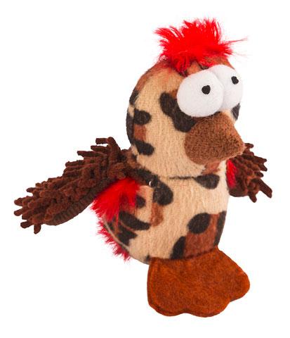 Minkštas Žaislas Crazzy Chicken 8cm