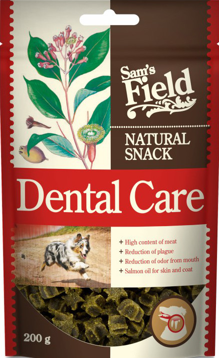 Sams Field Dog skanėstas Dental Care 200g