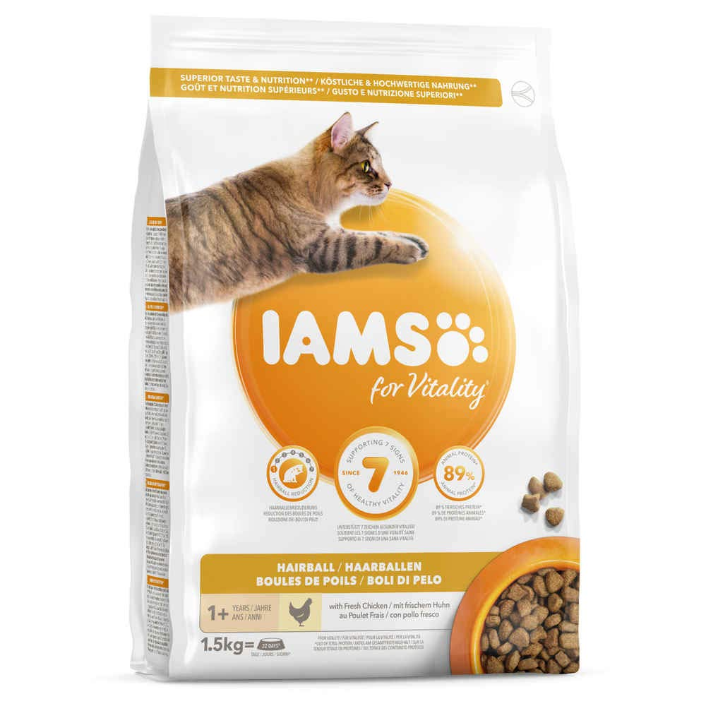 IAMS Adult Hairball Control System 10kg