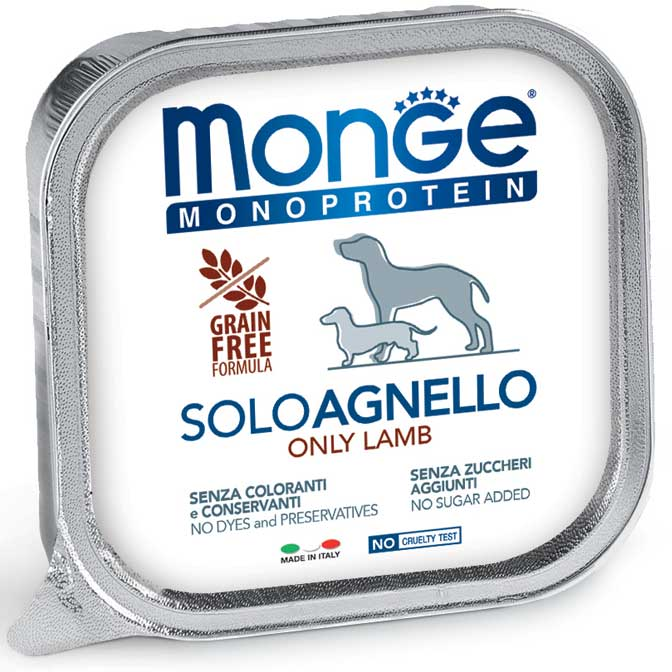 Monge Solo koncervai su ėriena 150gr