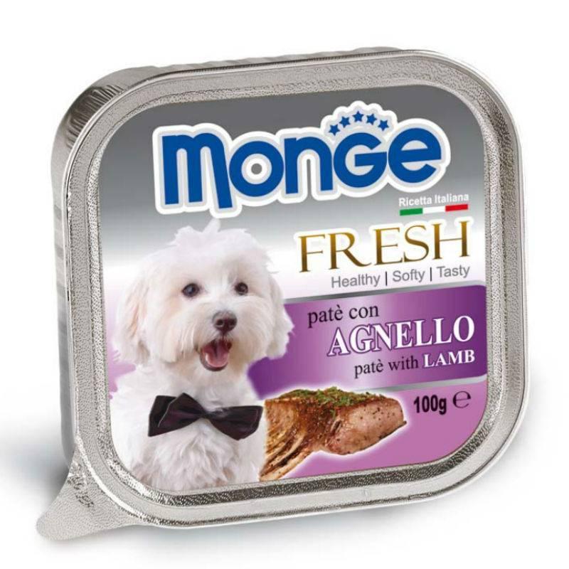 Monge Fresh konservai su ėriena 100gr