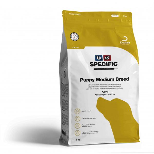 Specific CPD – M PUPPY MEDIUM BREED 14kg.