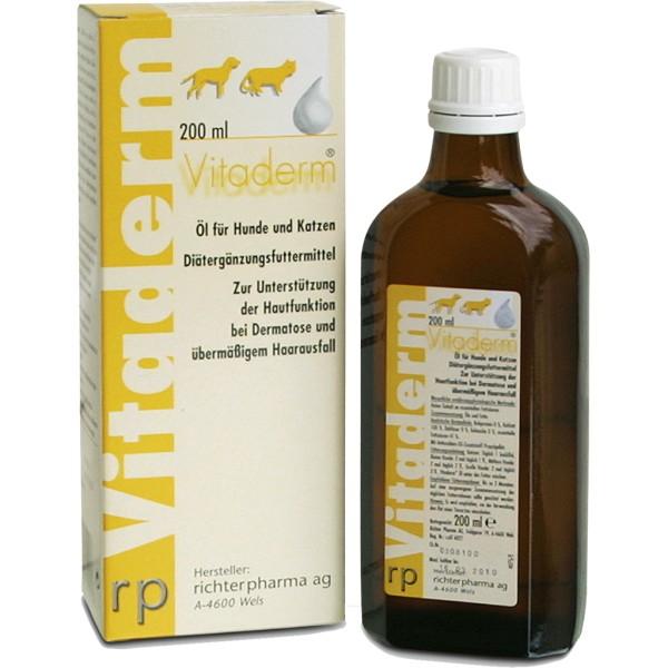 Vitaderm aliejus 200 ml.
