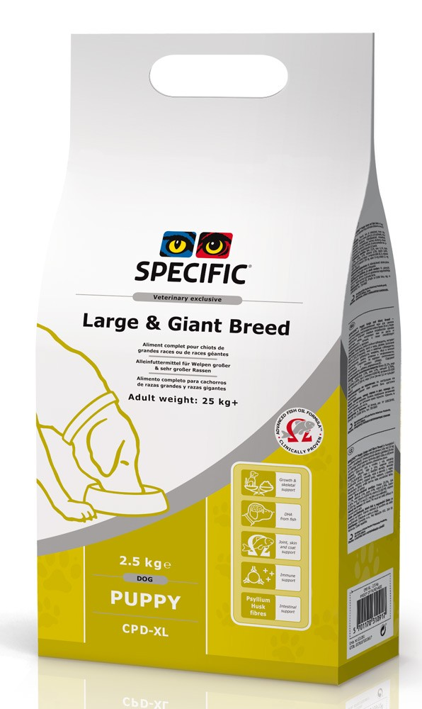 Specific CPD-XL PUPPY LARGE & GIANT BREED 14kg.