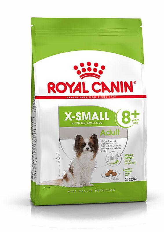 Šunų maistas Royal Canin X-Small 8+ Ageing  1,5kg