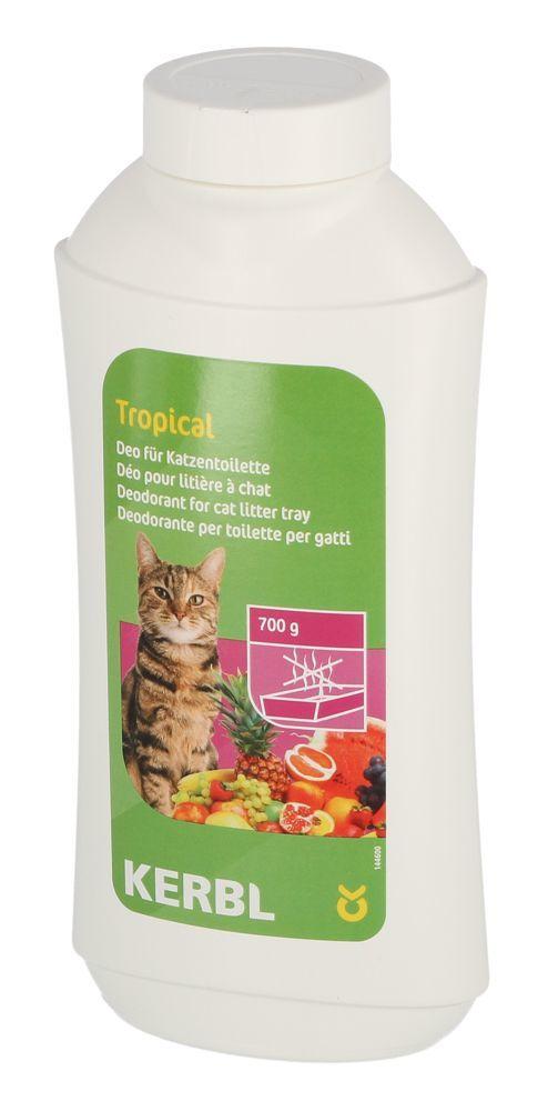 KERBL Tropical  kačių tualeto dezodorantas 700g